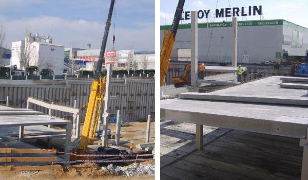 Proyectos anteriores rande arquitectura e ingenier a de for Leroy merlin construccion